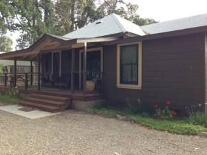 Our cottage in Glen Ellen