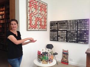 Llisa Demetrios points out various Eames designs