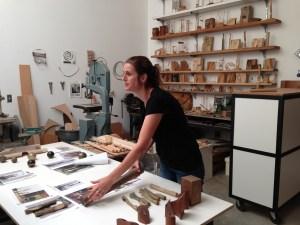 Llisa Demetrios' studio