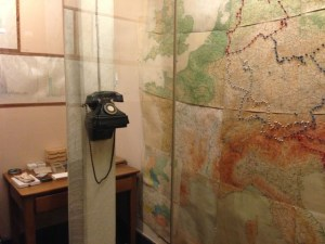 Churchill map room