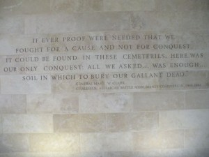 Cemetery inscription