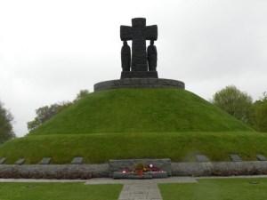 German mass grave