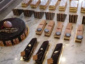 Chocolate pastries