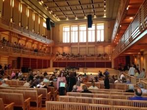 Weill hall inside