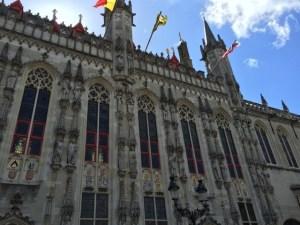 Burg white flags