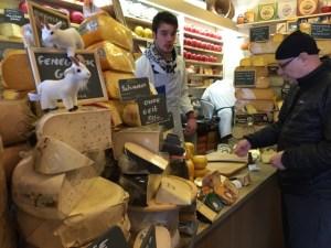 Buying cheese