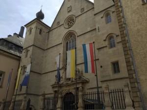 Notre Dame entrance
