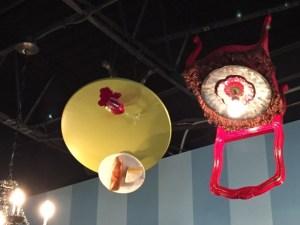 Chair chandelier
