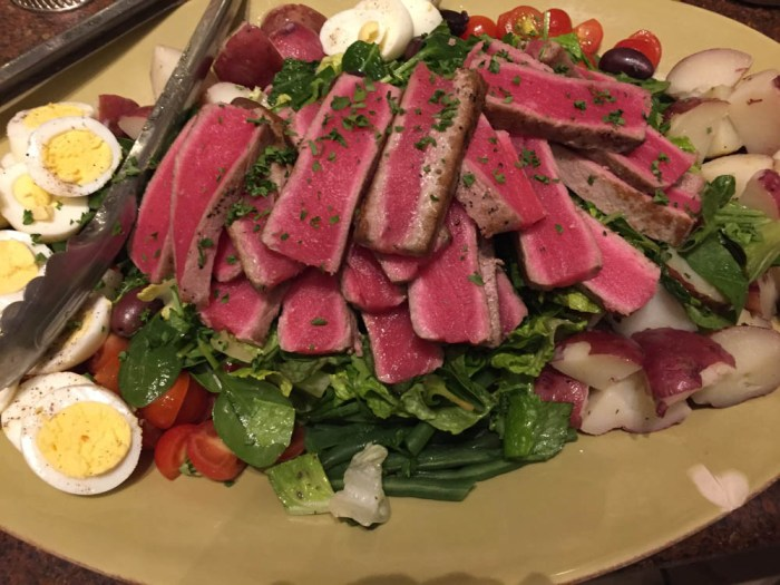 Chef Erin Hraster Salad Nicoise