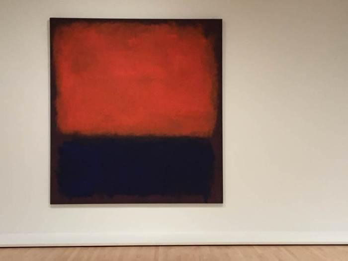 Mark Rothko No. 14, 1960 at SFMOMA