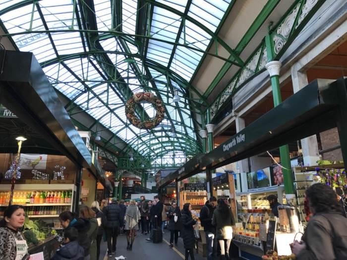 Borough Market at Christmas