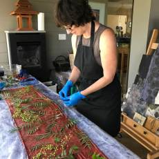 Botanical Printing by Monique Risch Takes Clothing Back to Nature
