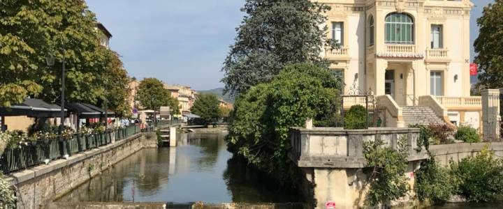 Provençal Charms and Personal Challenges in L'Isle-sur-la-Sorgue