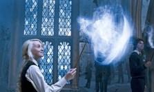 Luna casting a patronus