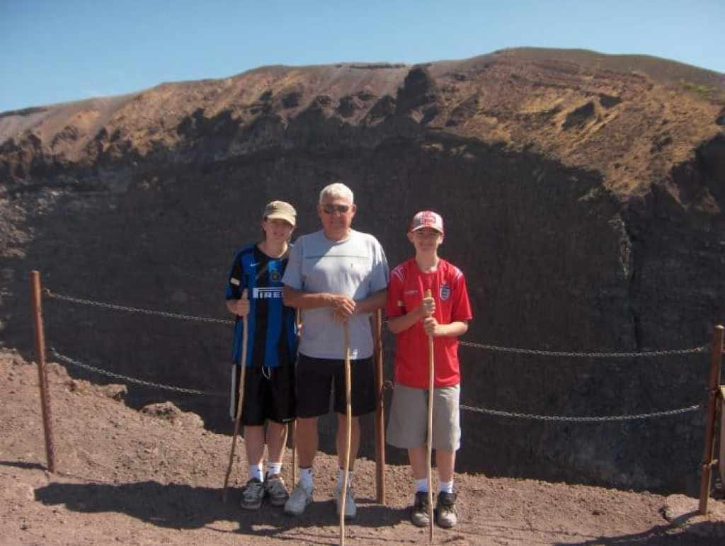 crater, top, view, Trekking to the summit of Mt. Vesuvius! The only live volcano on mainland Europe!, pompeii, herculaeum, italy, travel, hike, explore, adventure, how to get to vesuvius, how to climb vesuvius,