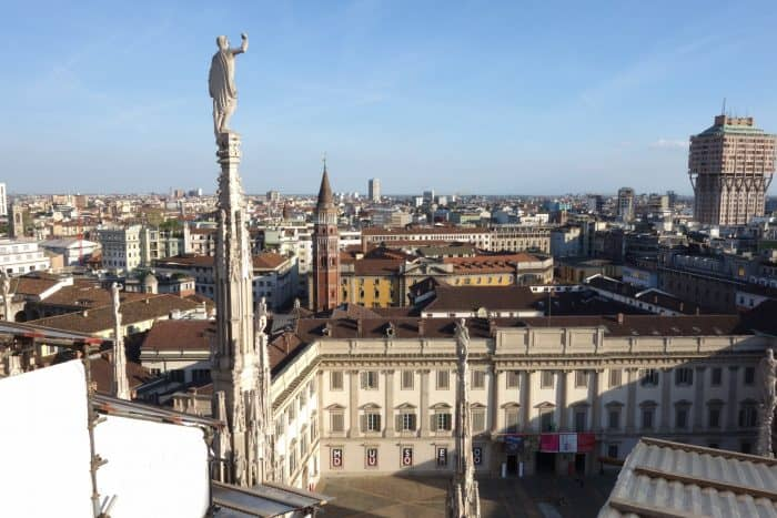 Scaling the roof of the Milan Duomo - The huge cathedral that took 600 years to build, Milan, milano, history, duomo, cathedral, rooftop, how to visit, price, cost, wait, views, things to do in milan, italy, italia, roaming renegades, blog