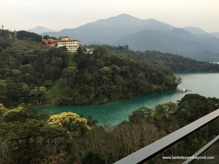 TAIWAN-Sun Moon Lake-Fleur de Chine-guest room-view from my room 1-c2016 Carole Terwilliger Meyers-watermark