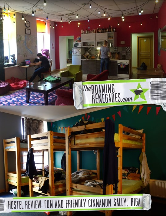 Hostel Review: Cinnamon Sally, Riga. A fun, youthful and artistic hostel in this beautiful city! https://theroamingrenegades.com/2016/08/hostel-review-cinnamon-sally-riga-a-fun-youthful-and-artistic-hostel-in-this-beautiful-city.html