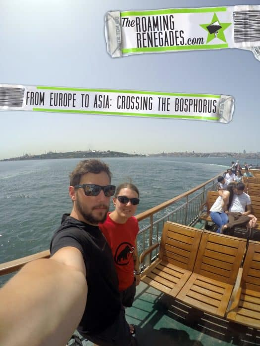 From Europe to Asia: Crossing the Bosphorus > https://theroamingrenegades.com/2016/09/crossing-bosphorus-istanbul-europe-asia.html