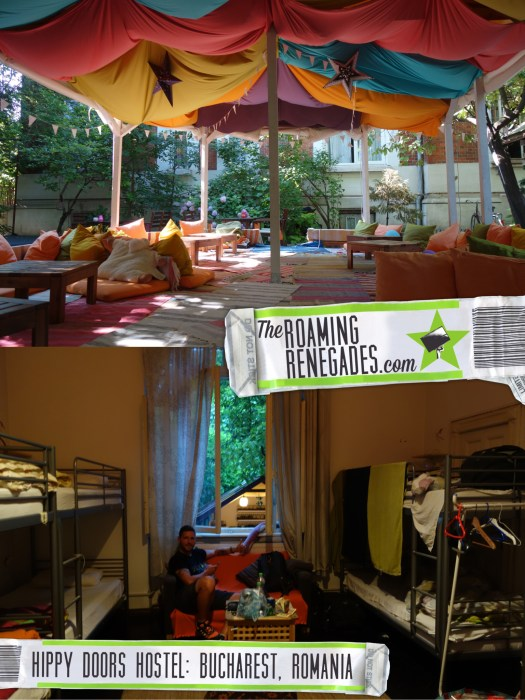 Doors Hostel Bucharest: A hippy paradise in this beautiful city, where to stay, Romania, art, hippy, chill out, hammock, best hostels, accommodation, hotel, best places to stay, Balkan Backpacker, backpacking, Balkans, Europe, Eastern Europe