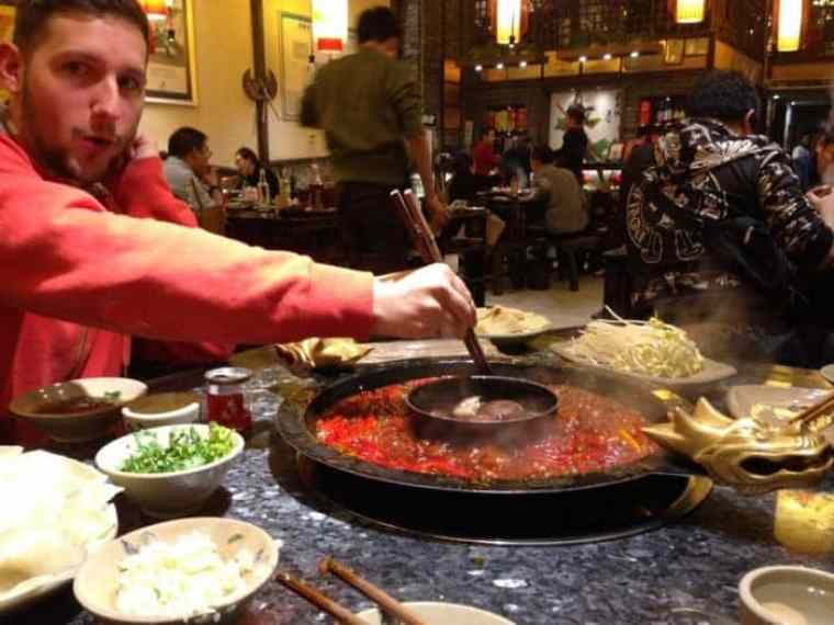 famous Sichuan hot pot Chengdu, The hallucinogenic Sichuan Hotpot that is hotter than anything you've ever tried, where to eat hotpot, hot pot, Chengdu, Sichuan, hottest food, how to eat Sichuan hotpot, china, Chinese food, spicy, food travel,