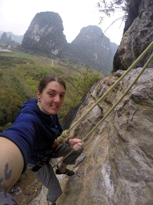 Crag, places to rent gear, renting climbing gear, equipment, wine bottle crag, swiss cheese, how to go climbing in yangshuo, where to climb, crags, style, sport, leading, guide, top rope, guide, adventure activities, extreme sports, adrenaline, A guide to the Guilin area of China: Yangshuo, Xingping and beyond, Things to do in Guilin, what to do, guide, where to stay in Guilin, how to get to Yangshuo, bus, train, minibus, transport, time, farms, rural, climbing, hike, bamboo raft, scams, karst, mountains, river, Li, Yulong, cycling, bike, hire a bike, this old place, sadder street, guilin china, guilin tour, guilin weather, guilin travel,yangshuo china, yangshuo hotels, guilin yangshuo, yangshuo hostel, yangshou rock climbing, Yangshuo mountains, li river cruise, Xingping china, Xingping this old place international hostel, singling hostel, backpacking china,