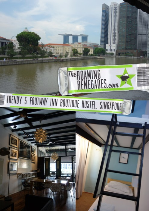 5footway.inn: A trendy new hostel making waves on the Singapore Boat quay and completely blowing your perceptions of hostels out of the water!