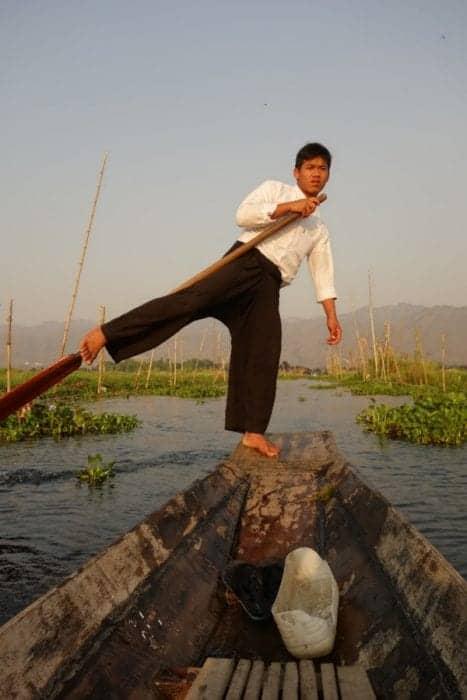 boat, Lake Inle guide, burma, Exploring the culture and scenery of the stunning Lake Inle, Myanmar, things to do in Lake Inle, floating village, market, long neck tribe, Nyaungshwe, leg rowing, cone net, fishermen, fisher men, boat men, boats, rowing with feet, kakku stupa, Padaung, giraffe women, shan state, Kayan tribe, Pa'o tribe, tribes inle lake, inlay lake, Hpaung Daw U Pagoda, lotus weaving, silver, tobbacco