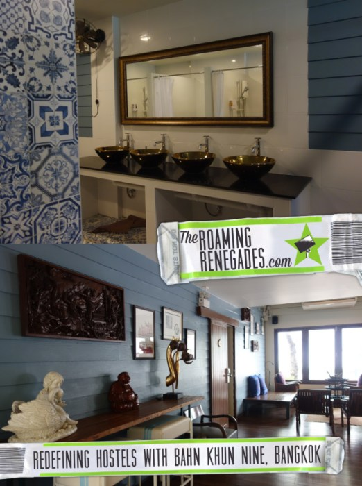 Baan Khun Nine: Bangkok. The boutique hostel that is redefining the term and blurring the lines between that and a hotel, best hostels, boutique hostel, not a party hostel bangkok, quiet hostel bangkok