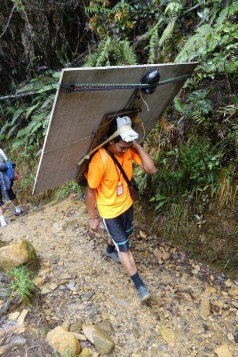climbing Mount Kinabalu, mount Kinabalu porters, Mt Kinabalu porters, The two day trek up the 13,435 ft Mt. Kinabalu on Malaysian Borneo, a true adventure, Kota Kinabalu, How much does it cost to hike Mt Kinabalu, How long in advance do I need to book a Mt Kinabalu tour, Can you hike Mt Kinabalu in a day, two days Mt Kinabalu Hike, Lowe's peak, Donkey ear, How long does it take to hike Mt Kinabalu, Mt Kinabalu summit, Earthquake, Dangerous, Via Feratta, mount kinabalu climb, kinabalu national park, views, weather, climbing mount kinabalu, mount kinabalu package, mount kinabalu national park, mount kinabalu hike,