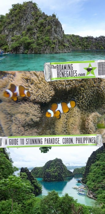 A guide to the isolated island of Coron and its many beautiful islands, Lagoons, wrecks and beaches, Philippines. > https://theroamingrenegades.com/2017/10/things-to-do-in-coron-philippines-palawan.html