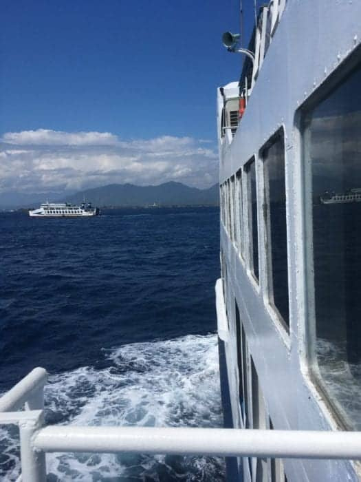 How to get to the paradise islands of Java, Bali, Lombok and the Gilis in Indonesia, Gili Air, Gili Meno, Gili Trawangan, ferry, slow boat, fast boat, time, price, cost, safety, Bali to Lombok ferry, bus, scams, taxi, shuttle bus, backpackers, backpacking, Indonesia, cheap, low cost, adventure, Yogyakarta, Bromo, Ijen, tour, speed boat,