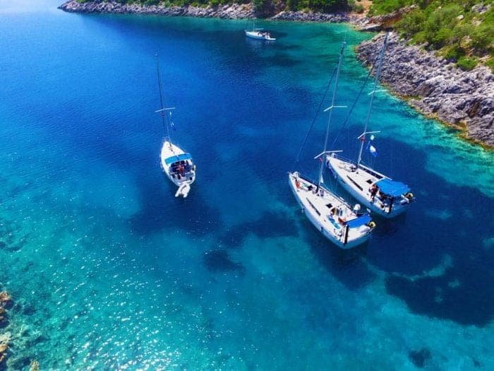 Ultimate sailing Flotilla holidays around the Greek Islands