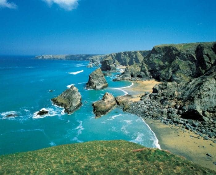 Discovering Cornwall by Land, Sea and Air. The best of the UK beaches