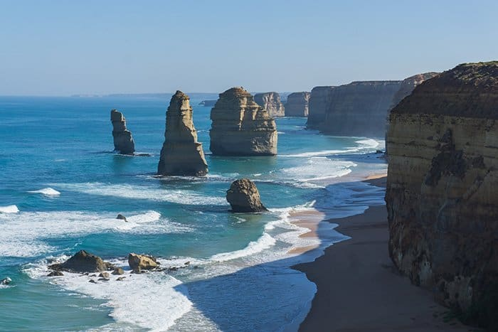 Melbourne 5 day itinerary: best places to visit in Melbourne. The 12 Apostle on Great Ocean Road.