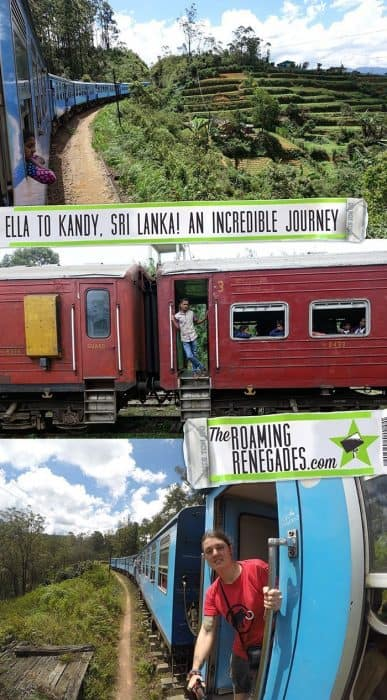 Ella to Kandy train, Sri Lanka: One of the best train rides in the world! > https://theroamingrenegades.com/2018/08/ella-to-kandy-to-ella-train-sri-lanka.html