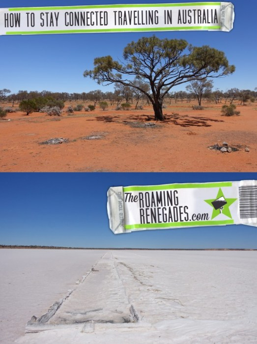 Backpacking down under: Stay connected whilst travelling across