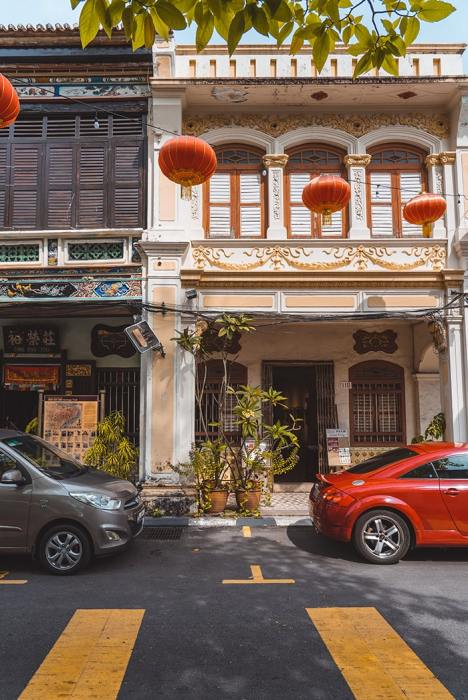 Penang Itinerary: What to do in Penang in 3 days: Georgetown Malaysia guide. Chinese Shop Houses