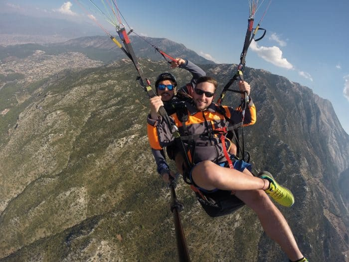 Paragliding in Oludeniz, Turkey: An incredibly beautiful
