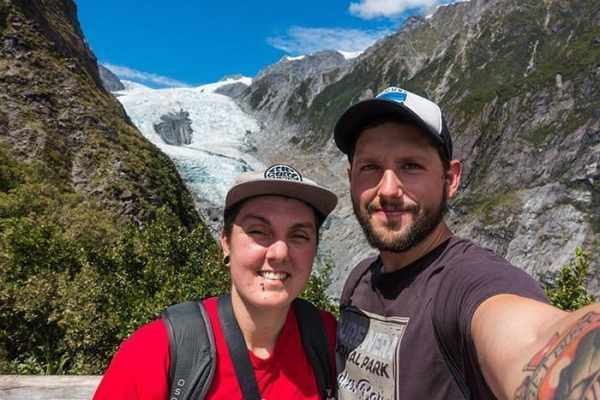 Franz Josef Glacier in New Zealand on the Roberts Point hike, travel photography tips for beginners, Tips on travel photography, tips for travel photography, tips for better travel photos, How to take better photos, composition, Street photography, portrait photography, landscape photography,