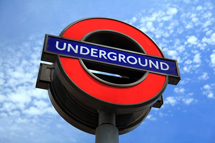The underground, sign, tube, Backpacking in London, London for families, Things to do in London for families, things to do in London on a budget, free things to do in London, cheap things to do in London,