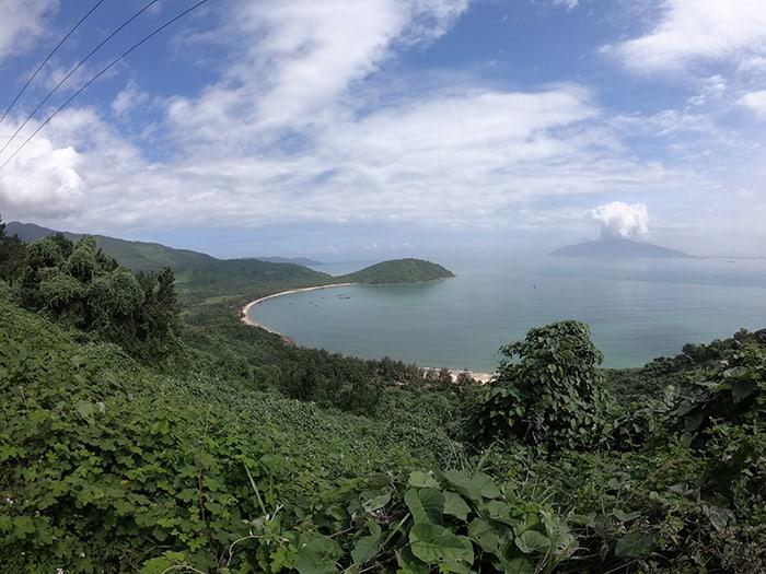 View of the Hai Van Pass, Vietnam. 3 weeks in Vietnam, Vietnam itinerary: 3 weeks, 3 week Vietnam itinerary