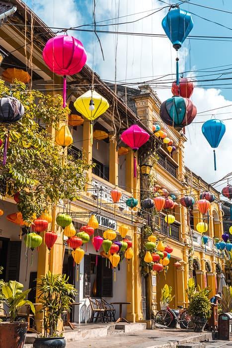 Lanterns in Hoi An. 3 weeks in Vietnam, Vietnam itinerary: 3 weeks, 3 week Vietnam itinerary