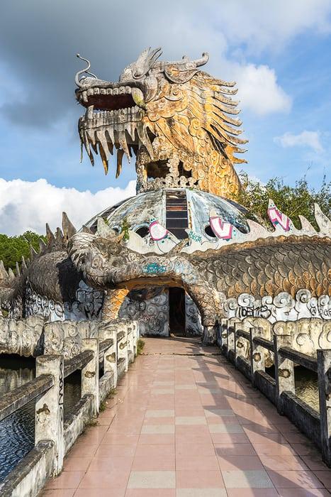 Abandoned waterpark in Hue. 3 weeks in Vietnam, Vietnam itinerary: 3 weeks, 3 week Vietnam itinerary