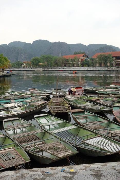 Tam Coc in Ninh Binh. 3 weeks in Vietnam, Vietnam itinerary: 3 weeks, 3 week Vietnam itinerary
