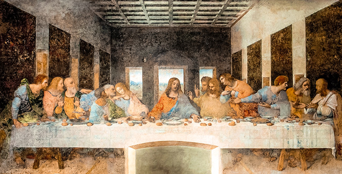 The last supper, Da Vince. (Milan 2 days, Two days in Milan, Milan in 2 days, What to do in Milan for 2 days, 2 days in Milan, 2 days in Milan itinerary, Milan itinerary 2 days, Milan city break, A weekend in Milan, How many days in Milan)
