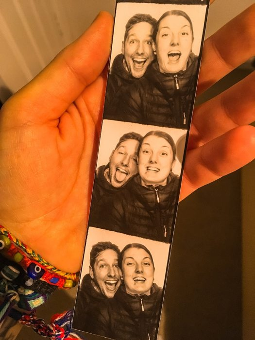 selfies from a photobooth (2 days in Berlin, Things to do in Berlin, 2 days in Berlin itinerary, Berlin 2 days itinerary, Berlin in two days, 48 hours in Berlin itinerary, What to do in Berlin in 2 days, Berlin 2 days, Things to do in Berlin, backpacking Berlin, cheap, budget Berlin, Germany)