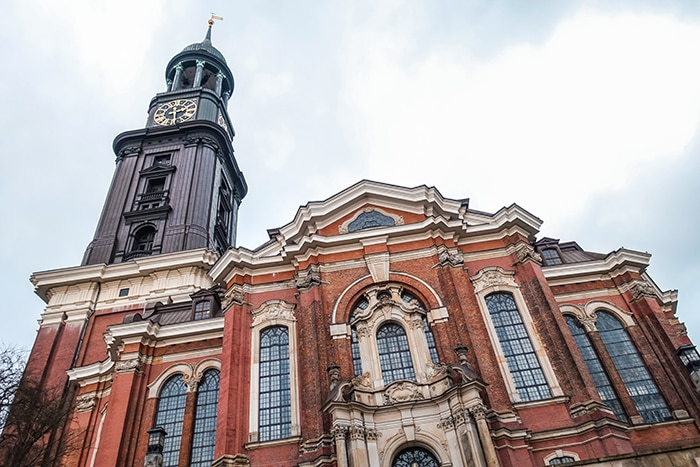 St Micheals church in Hamburg, (One day in Hamburg, Hamburg in one day, 1 day in Hamburg, 24 hours Hamburg, Hamburg itinerary, things to do in Hamburg, weekend in Hamburg)