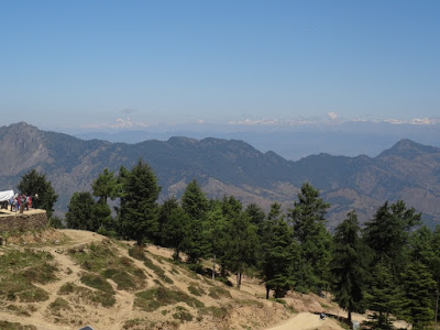 View from top point of Kufri