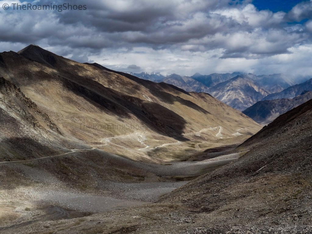 The road to Nubra
